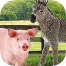 Bauernhoftiere und Zubehör