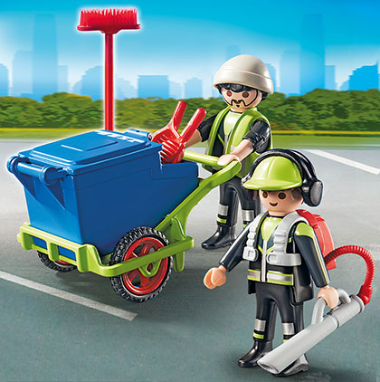 Playmobil 6113 Stadtreinigungs-Team