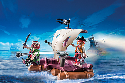 Playmobil 6682 Piratenfloß