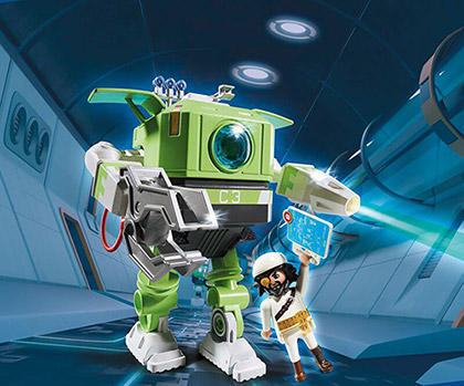 Playmobil 6693 Cleano-Roboter