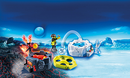 Playmobil 6831 Fire & Ice Action Game