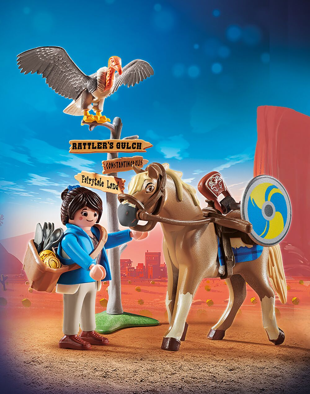 Playmobil 70072 THE MOVIE Marla mit Pferd