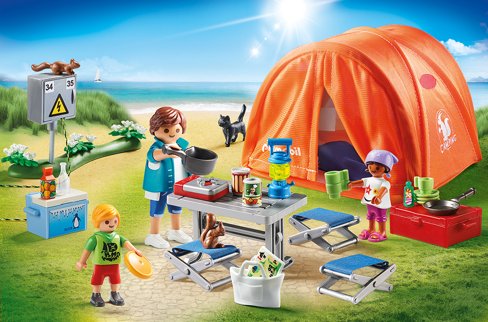 Playmobil 70089 Familien-Camping