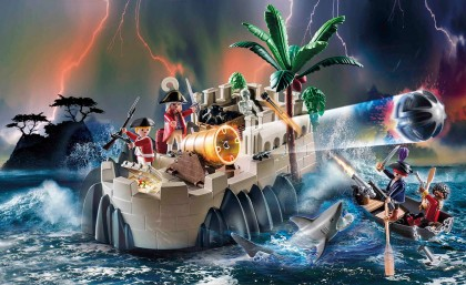 Playmobil 70413 Rotrockbastion