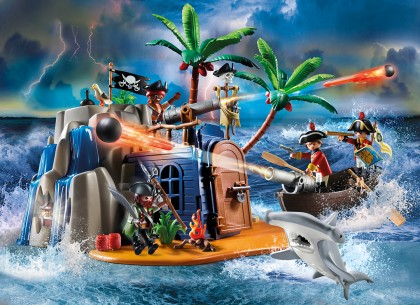 Playmobil 70556 Pirateninsel mit Schatzversteck