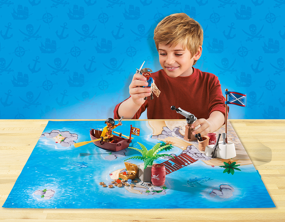Playmobil 9328 Play Map Piraten