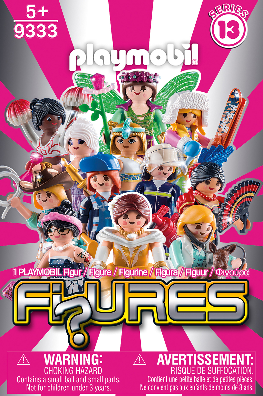 Playmobil 9333 Figures Serie 13 Girls