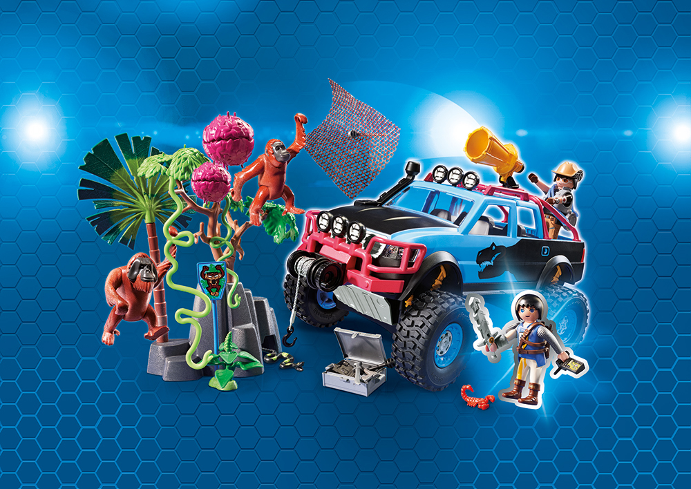 Playmobil 9407 Monster Truck mit Alex und Rock Brock