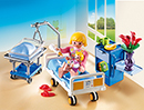 Playmobil 6660 Krankenzimmer mit Babybett