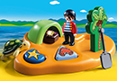 Playmobil 1.2.3 9119 Pirateninsel