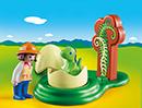 Playmobil 1.2.3 9121 Dino-Baby im Ei