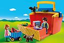 Playmobil 1.2.3 9123 Mein Marktstand zum Mitnehmen