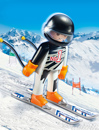 Playmobil 9288 Skirennläufer