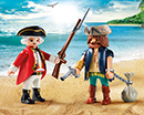 Playmobil 9446 Duo Pack Pirat und Soldat