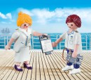 Playmobil 9216 Duo Pack Stewardess und Offizier