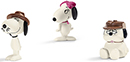 Schleich Peanuts Scenery Pack Snoopys siblings 22058