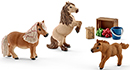 Schleich Mini Shetty Familie Horse Club 41432