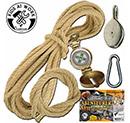 Abenteuer-Seil Kinder Werkzeug 750139